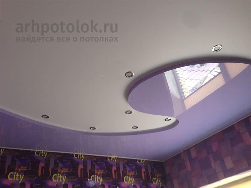 двухуровневые потолки в архангельске