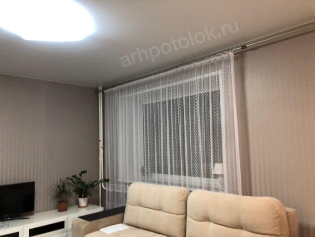 Матовые натяжные потолки в Архангельске
