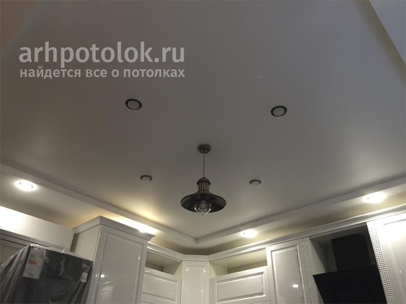 Двухуровневый потолок в Архангельске