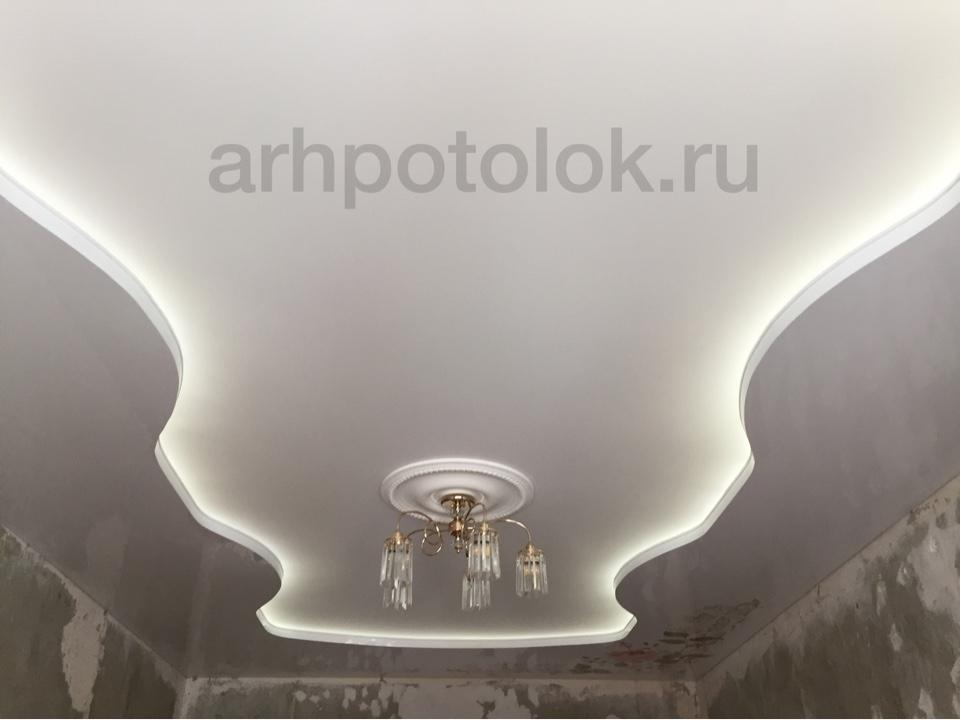 натяжные потолки с подсветкой в Архангельске