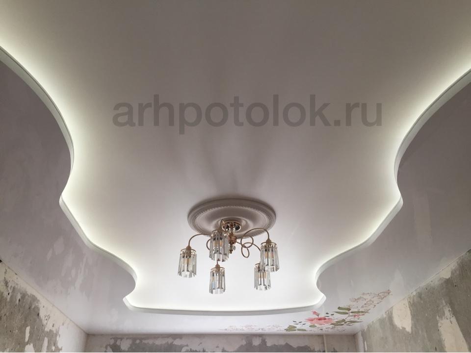 натяжные потолки в Архангельске