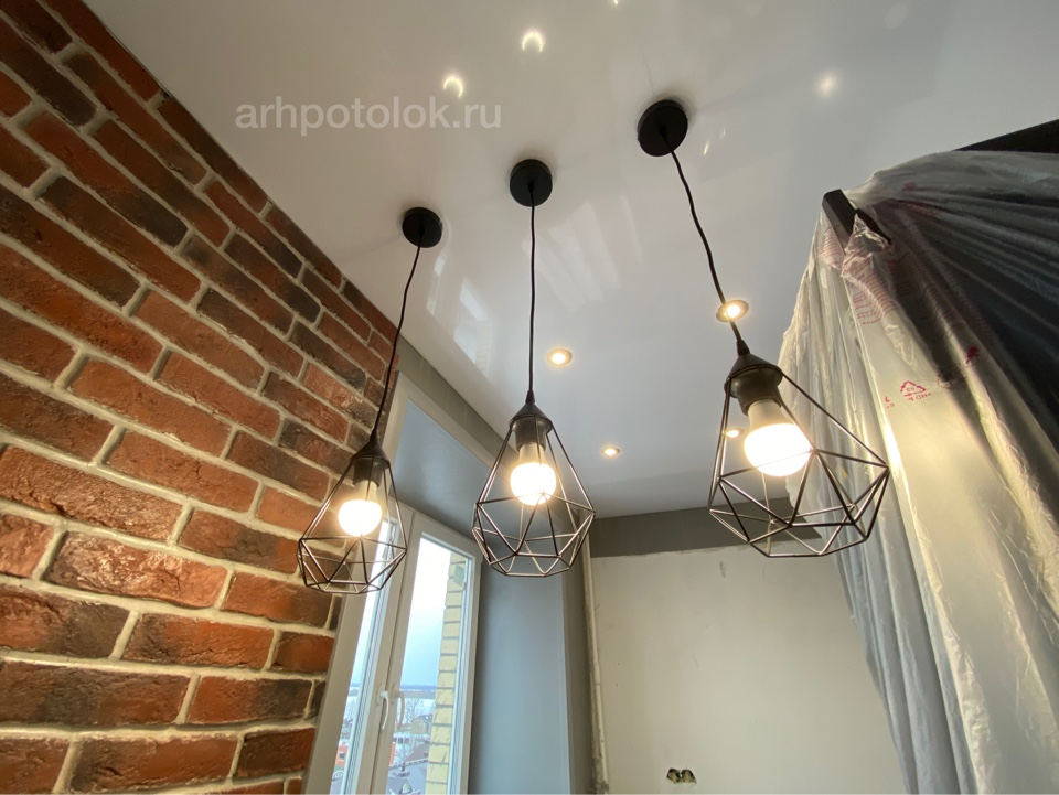 стильные натяжные потолки в Архангельске