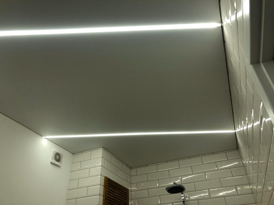 светящиеся натяжные потолки в Архангельске